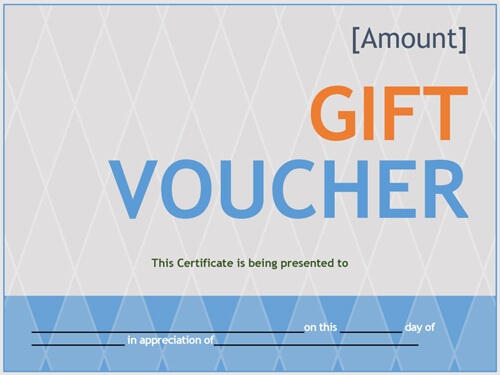 printable gift voucher template word